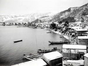 海津の丸子船