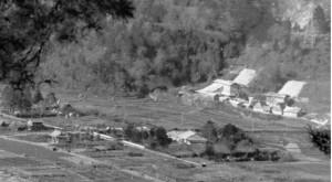 石灰岩採掘場 灰山