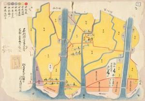 知内村絵図